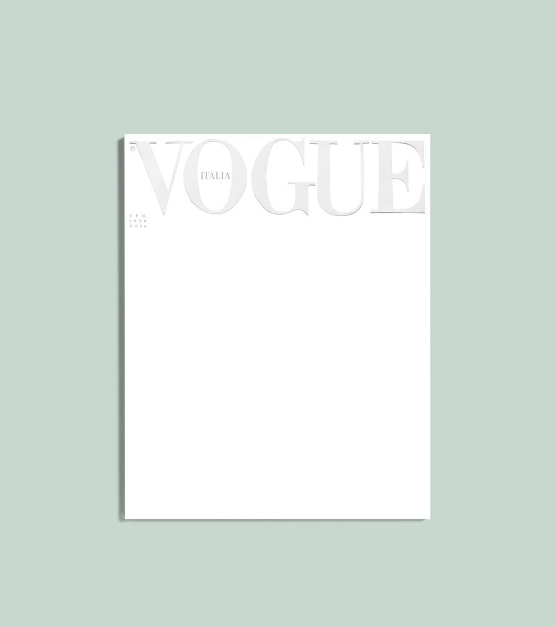 Vogue Italia Reacts to Coronavirus Crisis With Special Edition