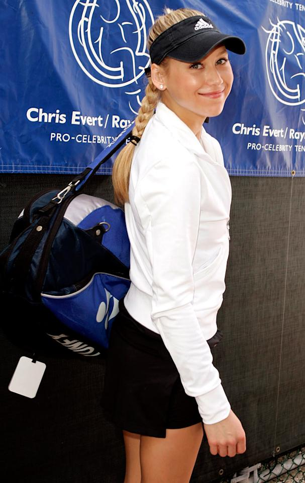 "Anna Kournikova has had far more success off the tennis courts than on. Jean Baptiste Lacroix/<a href=""http://www.wireimage.com"" target=""new"">WireImage.com</a> - November 5, 2006"