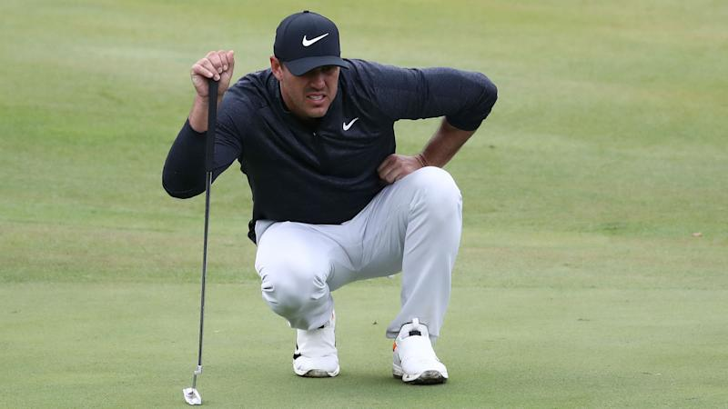 World number one Koepka hoping knee problems are behind him
