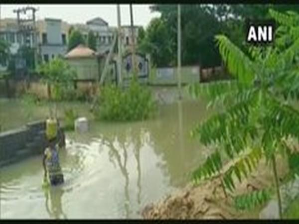 Visual from a submerged area in Boudh, Odisha (Photo/ANI)