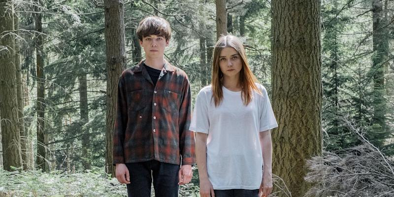 The End of the F***ing World stars Alex Lawther and Jessica Barden