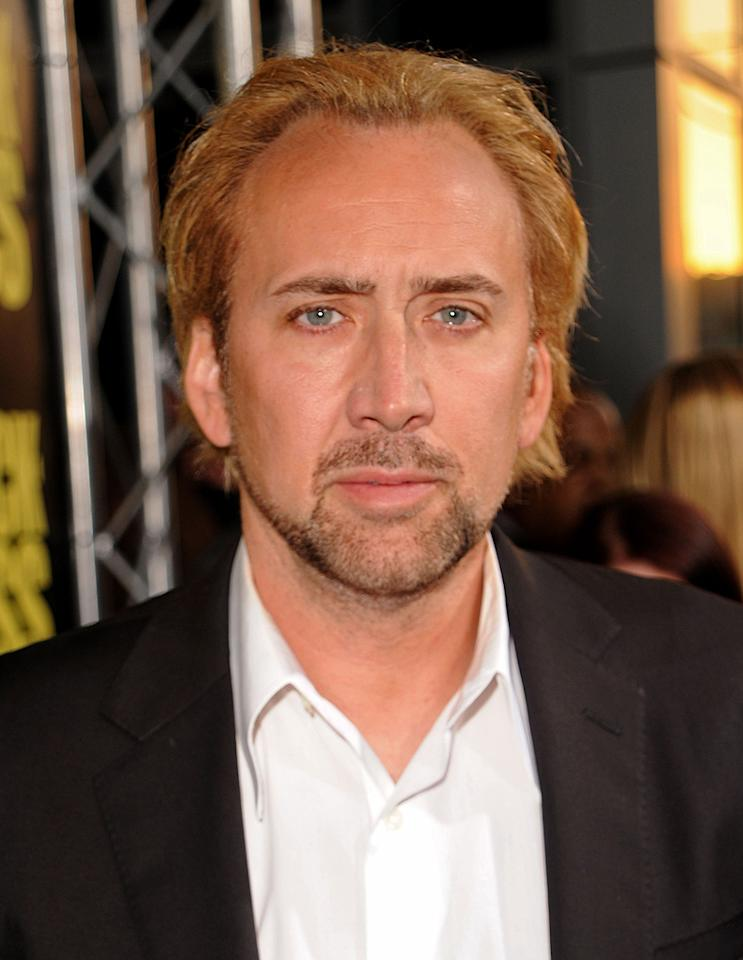 "<a href=""http://movies.yahoo.com/movie/contributor/1800018581"">Nicolas Cage</a> at the Los Angeles premiere of <a href=""http://movies.yahoo.com/movie/1810063108/info"">Kick-Ass</a> - 04/13/2010"