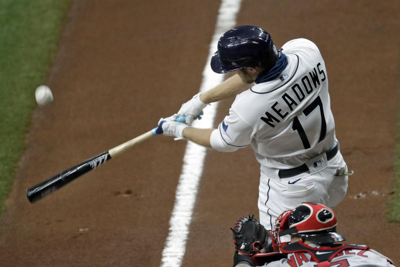 Meadows 2 hits in return from virus, Rays top Red Sox 5-1