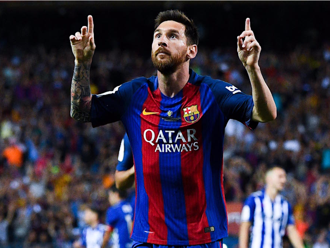 Simeone in Awe of Barcelona`s Messi