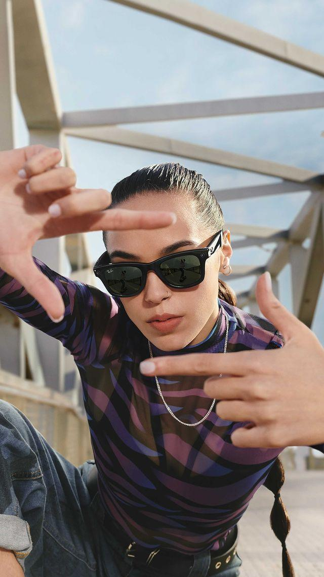 """<p>If you weren't sure wearable tech was for you then let Ray-Ban and Facebook's collaboration, Ray-Ban Stories, sway you. </p><p>Built into Ray-Ban's already iconic designs (Wayfarer, Round and Meteor), these smart glasses allow you to take photographs, film and listen to music all with the touch of a small button, swipe of the in-built touch screen or 'Hello Facebook'. You can upload your image and videos (to Instagram, Whatsapp, Twitter you name it)from the companion app after, allowing you to enjoy whatever experience, be it skydiving or gigging, completely in the moment, while still creating content. </p><p>'We are incredibly proud to bring Ray-Ban Stories to life with our partners at Facebook,' said Rocco Basilico, Chief Wearables Officer at EssilorLuxottica. </p><p>'This is a milestone product that proves consumers don't have to choose between technology and fashion - they can live in the moment and stay connected while wearing their favourite style of Ray-Ban's. Our unique approach, combining decades of superior<br>craftsmanship, a dedicated spirit of innovation and a commitment to delivering only cutting edge technology has resulted in a wearable that people will truly love wearing.'</p><p>S<a href=""""https://go.redirectingat.com?id=127X1599956&url=https%3A%2F%2Fwww.ray-ban.com%2Fuk%2Fray-ban-stories&sref=https%3A%2F%2Fwww.elle.com%2Fuk%2Ffashion%2Fg31095508%2Findustry-update%2F"""" rel=""""nofollow noopener"""" target=""""_blank"""" data-ylk=""""slk:HOP NOW"""" class=""""link rapid-noclick-resp"""">HOP NOW</a></p><p><a href=""""https://www.instagram.com/p/CTnJ36-gxkV/"""" rel=""""nofollow noopener"""" target=""""_blank"""" data-ylk=""""slk:See the original post on Instagram"""" class=""""link rapid-noclick-resp"""">See the original post on Instagram</a></p>"""