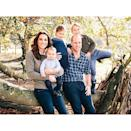 """<p>The family of five posed together at Anmer Hall, Norfolk for this adorable family snap, taken by photographer Matt Porteous. The photograph marked the first occasion Prince Louis appeared in a family Christmas photo since his birth on 23 April 2017. </p><p><a href=""""https://www.instagram.com/p/BrXYSdHFcz-/?utm_source=ig_web_copy_link"""" rel=""""nofollow noopener"""" target=""""_blank"""" data-ylk=""""slk:See the original post on Instagram"""" class=""""link rapid-noclick-resp"""">See the original post on Instagram</a></p>"""