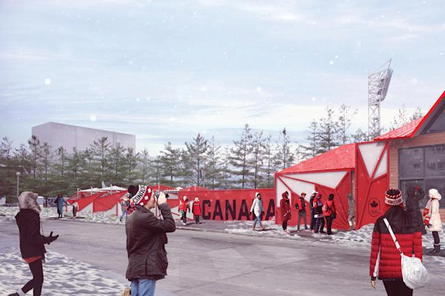 Artist's rendering of Canada Olympic House. (Sid Lee/Canadian Olympic Committee)