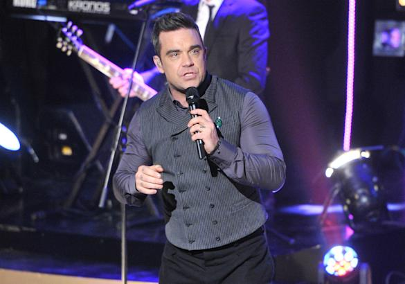 Just Like Candy? Robbie William's Teases New Single 'Be A Boy'