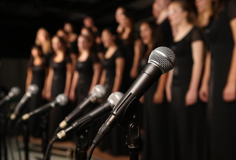 One member of the chorus tested positive following the performance on 13 September, forcing more than 40 other members and their close contacts into isolation (Getty Images)