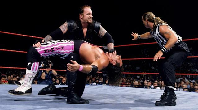 """Bret """"The Hitman"""" Hart took a break from his role as Commissioner of Sharpshooter Funding to discuss the legendary career of The Undertaker."""