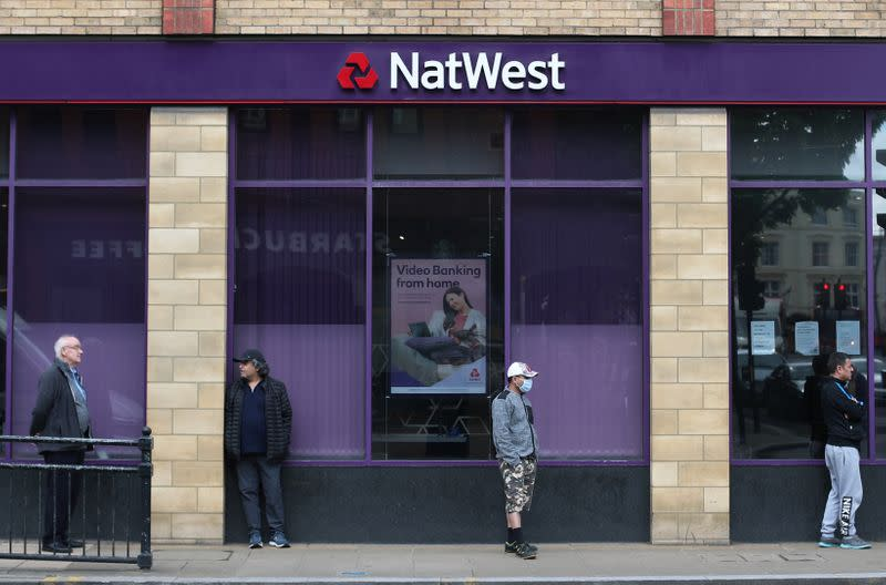 NatWest taps 5 billion pounds in Bank of England COVID funds