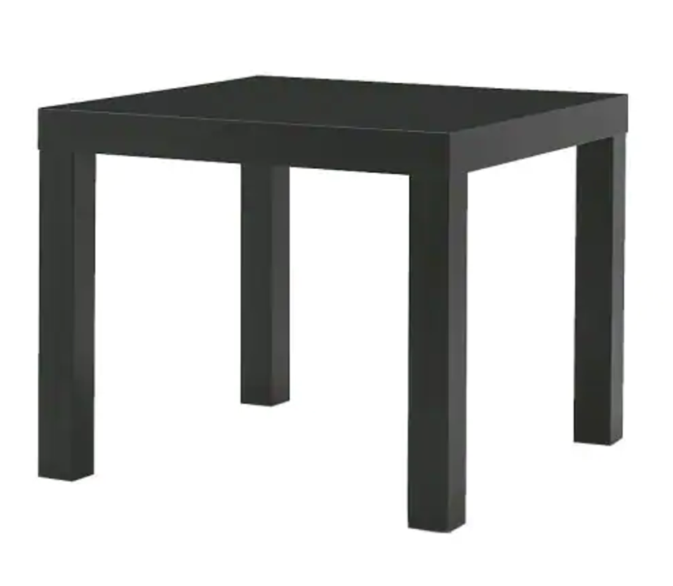 """<p>Basic or not, this side table is less than <strong>$9</strong> and there are endless ways to hack it.</p><p><strong><a class=""""link rapid-noclick-resp"""" href=""""https://go.redirectingat.com?id=74968X1596630&url=https%3A%2F%2Fwww.ikea.com%2Fus%2Fen%2Fcatalog%2Fproducts%2F20011408%2F%3Fgclid%3DCj0KCQjwrZLdBRCmARIsAFBZllE6QbYku_5CmuRqiao-Ifs1YD08_pvELM-0tf3JyE2cV_HmkX8pM7IaAmwqEALw_wcB&sref=https%3A%2F%2Fwww.bestproducts.com%2Fhome%2Fg29514474%2Fbest-ikea-hacks%2F"""" rel=""""nofollow noopener"""" target=""""_blank"""" data-ylk=""""slk:BUY NOW"""">BUY NOW</a> LACK Side Table, </strong><em><strong>$10, ikea.com</strong></em></p>"""