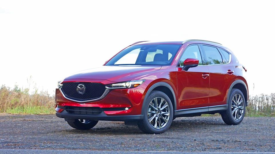 2021 Mazda CX-5 Grand Touring in Soul Red Crystal