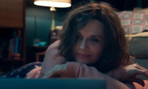 Who You Think I Am review – Juliette Binoche turns up the heat in phone sex tale