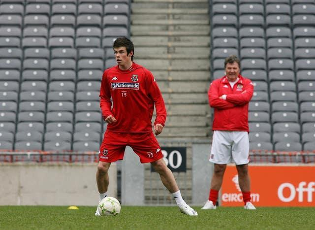 Toshack introduced Gareth Bale into the international arena