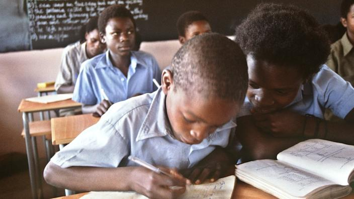 Many schools opened up in Zimbabwe after independence in 1980