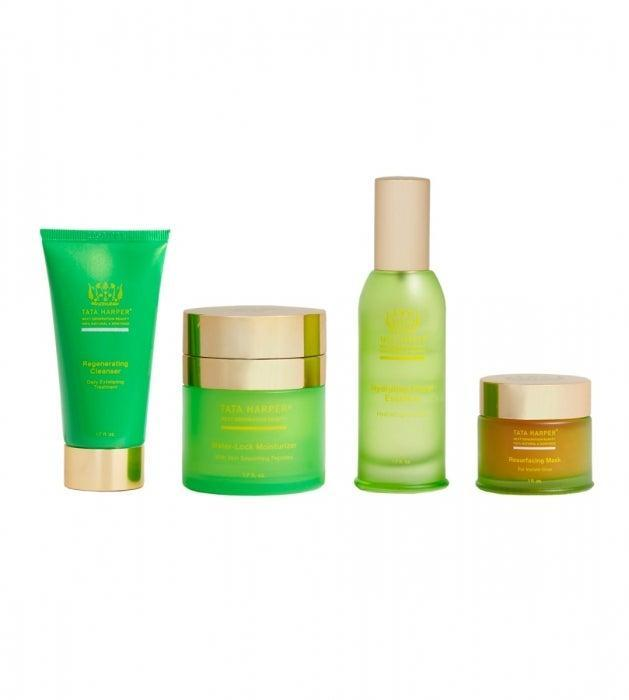 """<h3>Tata Harper Ultra-Smoothing Facial Set</h3> <br>For the mom who's all about <a href=""""https://www.refinery29.com/en-us/2019/02/223793/target-natural-clean-beauty-products"""" rel=""""nofollow noopener"""" target=""""_blank"""" data-ylk=""""slk:clean and natural skin care"""" class=""""link rapid-noclick-resp"""">clean and natural skin care</a>, you can't go wrong with any bundle by Tata Harper. We love this new one because it's a complete facial in four simple steps: a cleanser and resurfacing mask to exfoliate the skin, then an essence and moisturizer to lock in the glow.<br><br><strong>Tata Harper</strong> Ultra-Smoothing Facial Set, $, available at <a href=""""https://go.skimresources.com/?id=30283X879131&url=https%3A%2F%2Fwww.tataharperskincare.com%2Fultra-smoothing-facial-treatment"""" rel=""""nofollow noopener"""" target=""""_blank"""" data-ylk=""""slk:Tata Harper"""" class=""""link rapid-noclick-resp"""">Tata Harper</a><br>"""