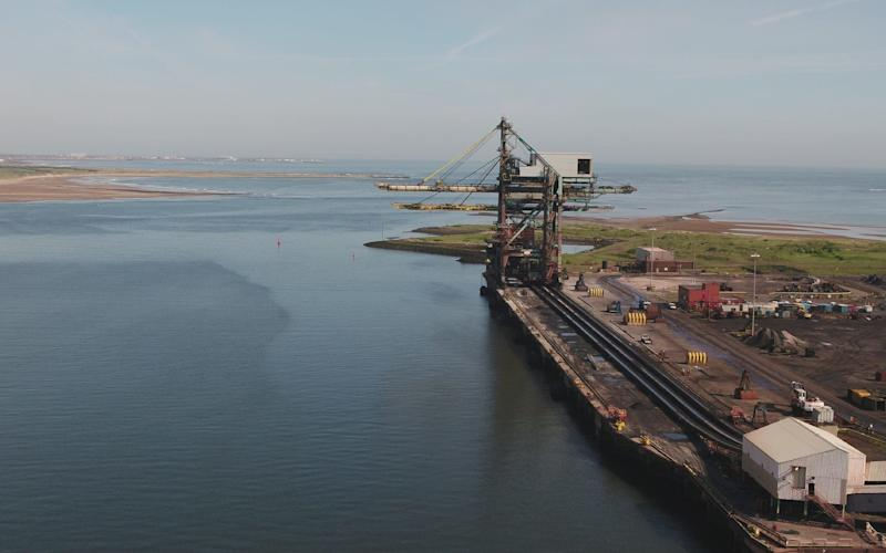 Redcar Bulk Terminal, on the south bank of the mouth of the River Tees, is one of only four ports in the UK capable of handling giant capesize vessels
