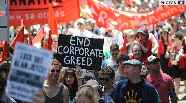 GALLERY: The Occupy Sydney movement in pictures. Photo: AAP