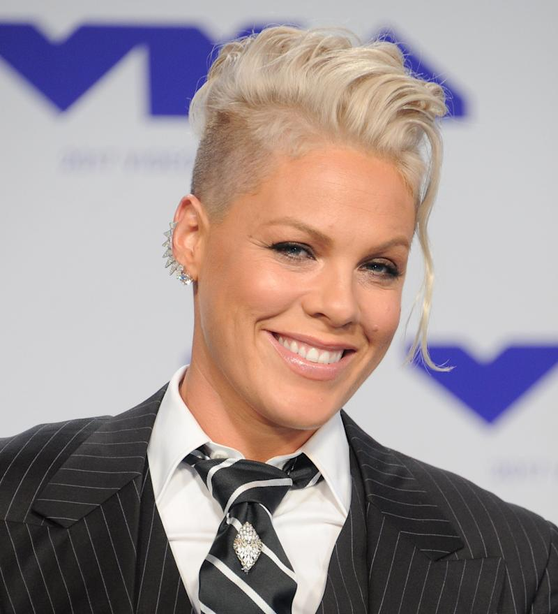 "Pink revealed she was pregnant with her daughter during a 2010 episode of <a href=""https://www.youtube.com/watch?v=YpoYdo04W7M"">""The Ellen DeGeneres Show.""</a> The singer said she delayed making the announcement because of her experience with pregnancy loss.<br /><br />""I didn't want to talk about it because I was just really nervous, and I have had a miscarriage before,"" she said."