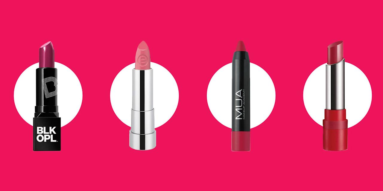 <p>Take a stroll down the drugstore beauty aisle and you might walk away with your favorite new lipstick. <span></span></p>