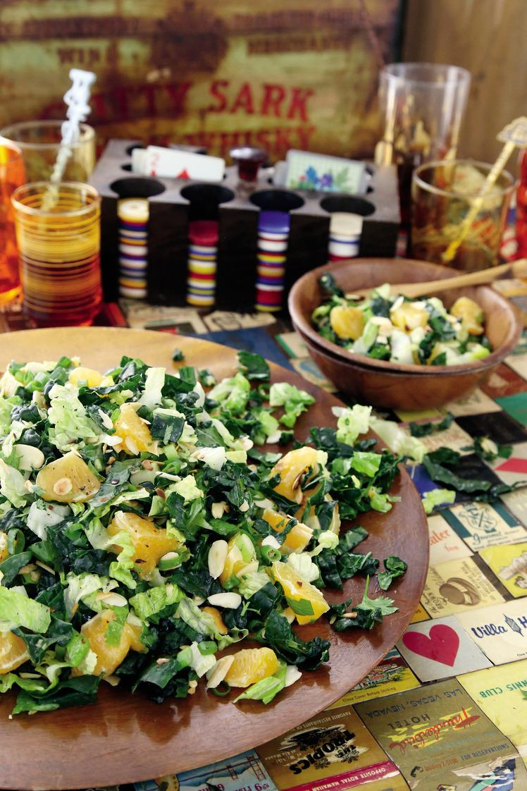 California Citrus and Almond Salad From
