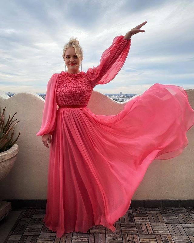 """<p><em>The Handmaid's Tale </em>lead Elisabeth Moss took ballet very seriously growing up. """"Being a ballet dancer, you take things really seriously at a young age,"""" <a href=""""https://variety.com/2014/tv/news/mad-men-elisabeth-moss-bette-midler-1201245866/"""" rel=""""nofollow noopener"""" target=""""_blank"""" data-ylk=""""slk:Elisabeth told Variety"""" class=""""link rapid-noclick-resp"""">Elisabeth told <em>Variety</em></a>. """"By 11 years old, you're thinking about what company you want to get into and where you're going to spend the rest of your life."""" </p><p>She <a href=""""https://www.biography.com/actor/elisabeth-moss"""" rel=""""nofollow noopener"""" target=""""_blank"""" data-ylk=""""slk:studied at the School of American Ballet"""" class=""""link rapid-noclick-resp"""">studied at the School of American Ballet</a> in New York City and then went to Washington, D.C., to study with Suzanne Farrell at the Kennedy Center. Elisabeth even <a href=""""https://www.indiewire.com/2018/07/hulu-ballet-now-trailer-dance-documentary-elisabeth-moss-1201981233/"""" rel=""""nofollow noopener"""" target=""""_blank"""" data-ylk=""""slk:produced a ballet documentary"""" class=""""link rapid-noclick-resp"""">produced a ballet documentary</a> called <em>Ballet Now.</em></p><p><a href=""""https://www.instagram.com/p/B7haVgBHtTz/?utm_source=ig_embed&utm_campaign=loading"""" rel=""""nofollow noopener"""" target=""""_blank"""" data-ylk=""""slk:See the original post on Instagram"""" class=""""link rapid-noclick-resp"""">See the original post on Instagram</a></p>"""