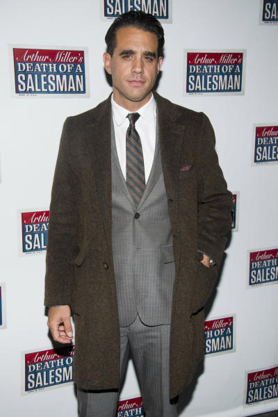 """FILE - In this March 15, 2012 file photo, actor Bobby Cannavale attends the opening night performance of the Broadway revival of Arthur Miller's """"Death of A Salesman"""" in New York. The Roundabout Theatre Company announced Thursday, May 3, that the Emmy Award winner will star in a new production of Clifford Odets' """"The Big Knife."""" The production will begin previews on March 22, 2013, and open officially on April 2013 at the American Airlines Theatre on 42nd Street. (AP Photo/Charles Sykes, file)"""