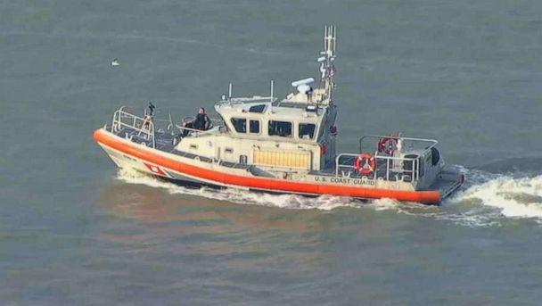 PHOTO: The U.S. Coast Guard searched Galveston Bay for missing Kemah, Texas, Police Chief Chris Reed, who fell overboard from a fishing boat on Friday, June 7, 2019. (KTRK)