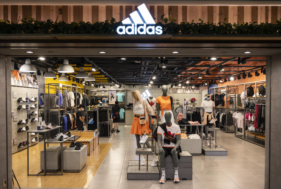 Use code ALLACCESS to save 33% off sitewide at Adidas. (Photo by Budrul Chukrut/SOPA Images/LightRocket via Getty Images)