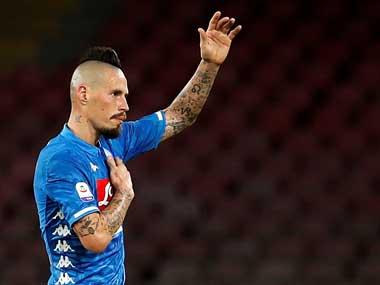 Serie A: Napoli bid emotional adieu to captain Marek Hamsik as Slovakian departs for Chinese Super League