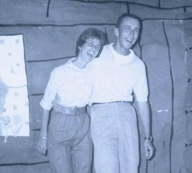 Gloria and Steven Pink at Camp Kadimah as staff members in 1962. The couple celebrated their 56th wedding anniversary last summer.