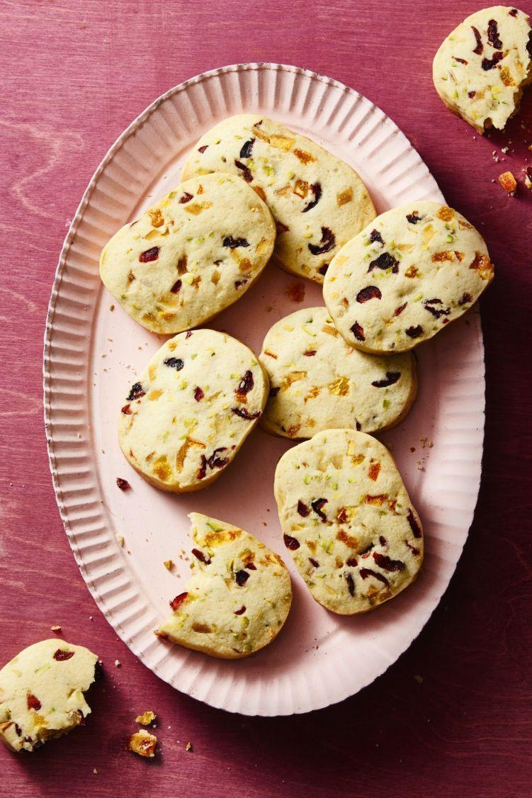 """<p>Sure, you might be the only one in the family that loves Grandma's fruitcake (besides Grandma, of course!), but these cookies will win everyone over. Trust.</p><p><em><a href=""""https://www.goodhousekeeping.com/food-recipes/dessert/a25334927/fruitcake-cookies-recipe/"""" rel=""""nofollow noopener"""" target=""""_blank"""" data-ylk=""""slk:Get the recipe for Fruitcake Cookies »"""" class=""""link rapid-noclick-resp"""">Get the recipe for Fruitcake Cookies »</a></em></p>"""