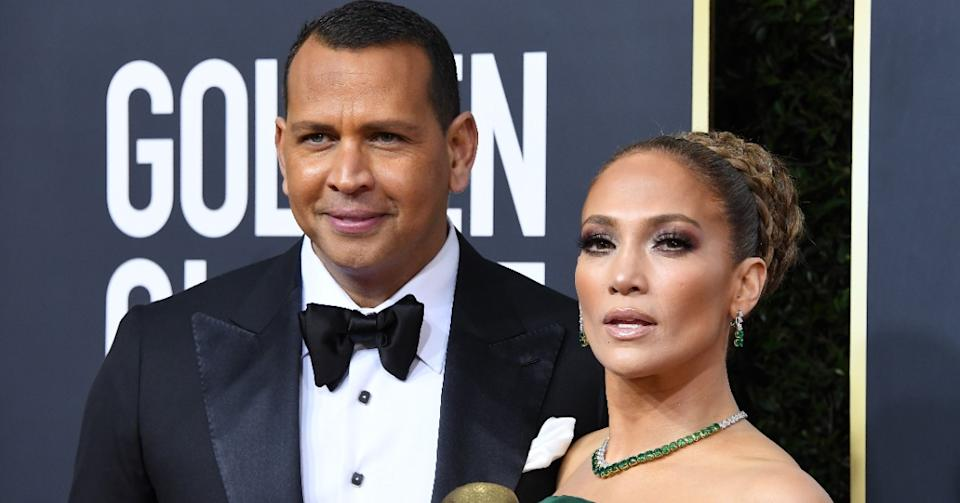 Alex Rodriguez showed off his post-breakup body on Instagram (Image via Getty Images)
