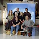"""<p>When John Ritter made a guest appearance on the sitcom about the goings on within a small Nantucket airport, he played the <a href=""""http://mentalfloss.com/article/63525/13-things-you-might-not-know-about-wings"""" rel=""""nofollow noopener"""" target=""""_blank"""" data-ylk=""""slk:ex-husband"""" class=""""link rapid-noclick-resp"""">ex-husband</a> of Amy Yasbeck, who he would go on to marry three years later. They had a child together and remained married until Ritter's sudden death in 2003.</p>"""