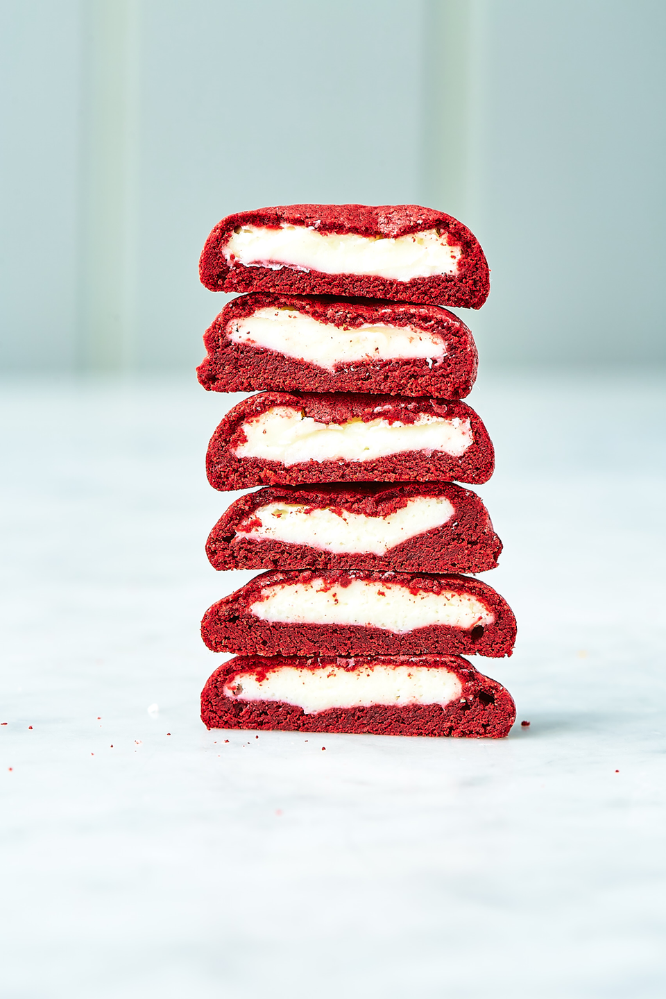 """<p>Red velvet perfection.</p><p>Get the recipe from <a href=""""https://www.delish.com/cooking/recipe-ideas/a19633262/inside-out-red-velvet-cookies-recipe/"""" rel=""""nofollow noopener"""" target=""""_blank"""" data-ylk=""""slk:Delish"""" class=""""link rapid-noclick-resp"""">Delish</a>.</p>"""
