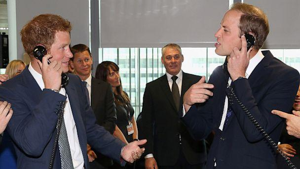 What Made Princes William and Harry Laugh at Charity Event?