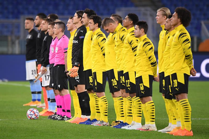 FILE PHOTO: Champions League - Group F - Lazio v Borussia Dortmund