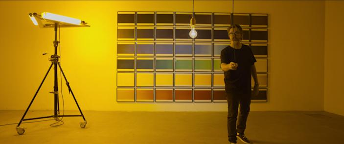 """<h1 class=""""title"""">2</h1> <div class=""""caption""""> One episode of <em>Abstract: The Art of Design</em> features sculptor and artist Olafur Eliasson, whose large-scale installations include a lamp-lit sun at Tate Modern. </div> <cite class=""""credit"""">Courtesy of NETFLIX</cite>"""