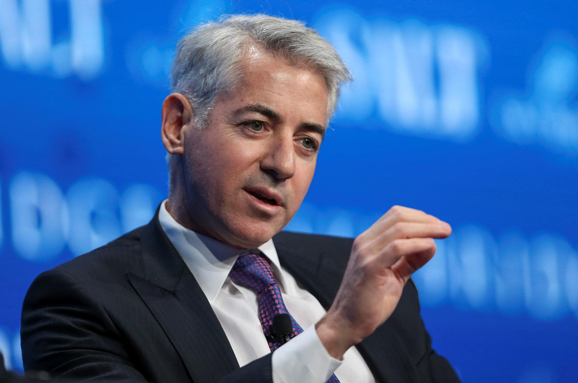 Bill Ackman, CEO at Pershing Square Capital Management, speaks during the SALT conference in Las Vegas, Nevada, U.S. May 18, 2017. REUTERS/Richard Brian
