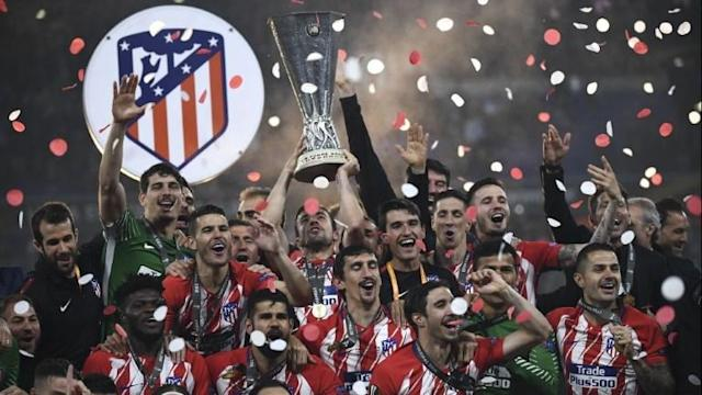 Antoine Griezmann is the hero for Atletico Madrid after the French striker scored twice in their 3-0 win over Marseille Europa League final in Lyon, allowing his club to win the trophy for the third time in nine seasons.