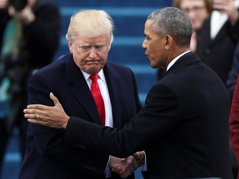 Despite the severity of his claim Mr Trump has not provided any evidence Mr Obama was responsible for surveillance at his property (Reuters)