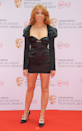 <p>Stacey Dooley also werks the LBD, finishing the look with statement buckle pumps.</p>