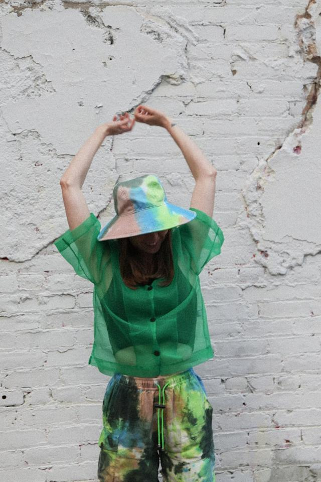 """<p>""""The difference between a vacationer hat and bucket hat becomes obvious once you visit KkCo's site and discover the beauty of throw-on-and-go statement pieces that feel right at the beach. I prefer the <a href=""""https://www.popsugar.com/buy/Studio%20Vacationer%20Hat%20in%20Earth%20Tie-Dye-473899?p_name=Studio%20Vacationer%20Hat%20in%20Earth%20Tie-Dye&retailer=kkcostudio.com&pid=473899&price=75&evar1=fab%3Aus&evar9=46438805&evar98=https%3A%2F%2Fwww.popsugar.com%2Ffashion%2Fphoto-gallery%2F46438805%2Fimage%2F46438807%2FKkCo-Studio-Vacationer-Hat-Earth-Tie-Dye&list1=shopping%2Cmust%20haves%2Ceditors%20pick%2Csummer%2Csummer%20fashion&prop13=api&pdata=1"""" rel=""""nofollow"""" data-shoppable-link=""""1"""" target=""""_blank"""" class=""""ga-track"""" data-ga-category=""""Related"""" data-ga-label=""""https://www.kkcostudio.com/collections/accessories-objects/products/vacation-hat-in-earth-tie-dye"""" data-ga-action=""""In-Line Links"""">Studio Vacationer Hat in Earth Tie-Dye</a> ($75) because of its wider brim."""" - Sarah Wasilak, Editor, Fashion</p>"""