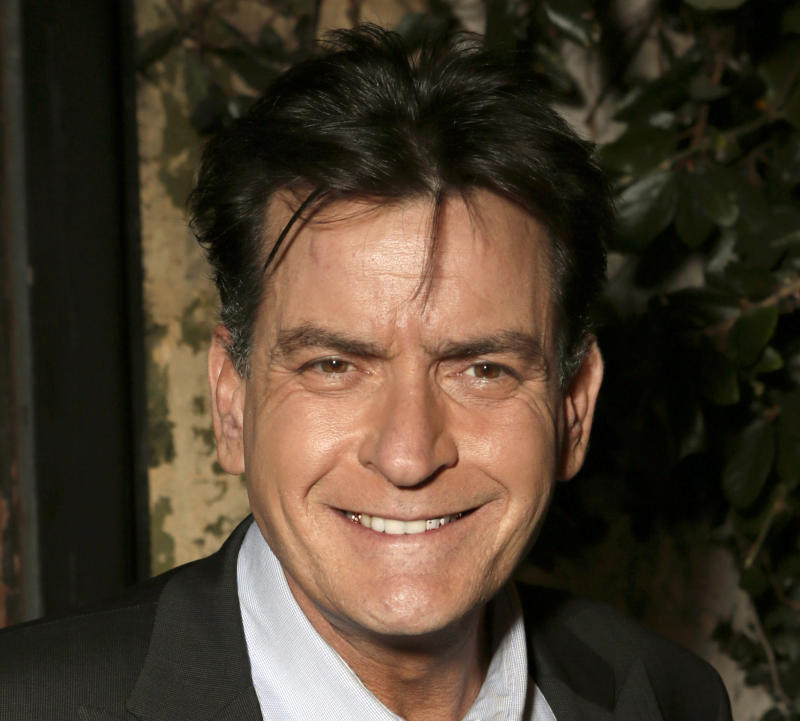 """FILE - This June 26, 2012 file photo shows actor Charlie Sheen attending the FX Summer Comedies Party at Lure in Los Angeles. The FX channel says on Wednesday, Aug. 29, 2012, it's ordered 90 more episodes of the Charlie Sheen sitcom """"Anger Management.""""  (Photo by Todd Williamson/Invision/AP, File)"""