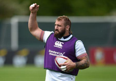 Rugby Union - British & Irish Lions Training & Press Conference - Carton House, Co. Kildare, Ireland - 22/5/17 British & Irish Lions Joe Marler during training Reuters / Clodagh Kilcoyne Livepic//File Photo