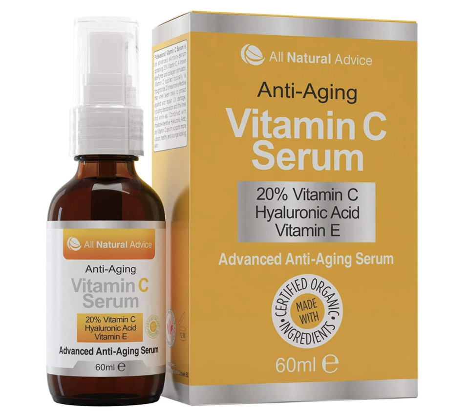 All Natural Anti-Aging Vitamin C Serum.