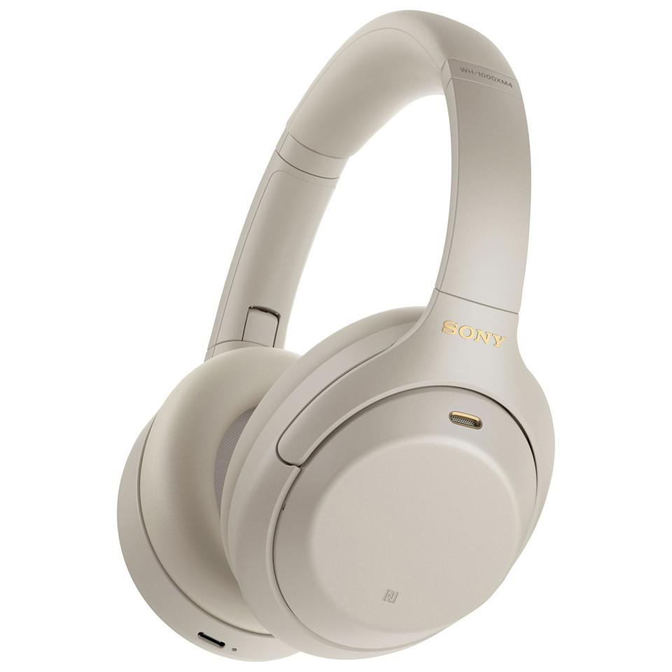 Sony Over-Ear Noise Cancelling Bluetooth Headphones. Image via Best Buy.
