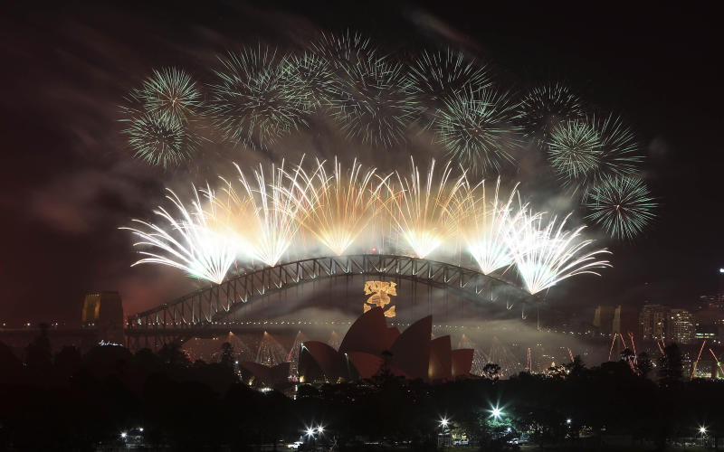 Asian nations giving enthusiastic welcome to 2013