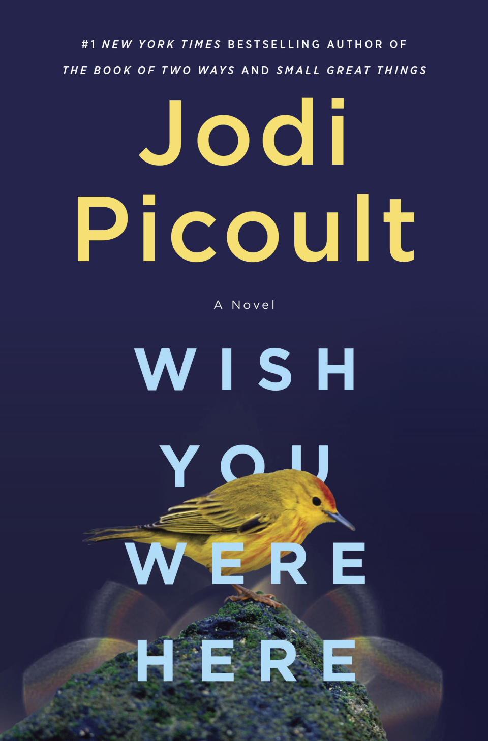 """This cover image released by Ballantine shows """"Wish You Were Here,"""" a novel by Jodi Picoult, releasing Nov. 30. (Ballantine via AP)"""